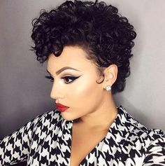 Today we have the most stylish 86 Cute Short Pixie Haircuts. Pixie haircut, of course, offers a lot of options for the hair of the ladies'… Continue Reading → Bob Haircut Curly, Curly Hair Cuts, Short Hair Cuts, Curly Hair Styles, Short Curls, Short Curly Pixie, Short Wigs, Red Pixie, Pixie Cuts