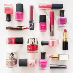 We're getting in the Valentine's Day spirit Blue Mercury pink and purple products for Valentine's Day. #Valentinesbeauty #valentinesday #deborahlippmann #chanel #smithandcult  #chantecaille