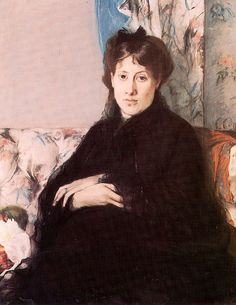 Portrait of Edma Pontillon by Berthe Morisot Medium: oil on canvas