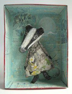 Geheimnis-Schachteln von Colette Bain... via Designchen