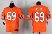 Chicago Bears #69 Jared Allen Alternate Orange NFL Outlet