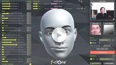 f-clone – Webcam and kinect markerless facial mocap (face motion capture) software Motion Capture, Facial, Software, Movie Posters, Facial Treatment, Facial Care, Film Poster, Face Care, Billboard
