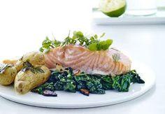Sund aftensmad på max 30 minutter   Iform.dk Fish And Seafood, Steak, Turkey, Chicken, Dinner, Ethnic Recipes, Modern, Dining, Turkey Country