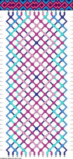 727 Best Bracelet Patterns Images On Pinterest Bracelets Bracelet