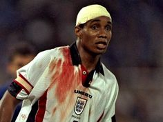 Paul Ince did not spare himself at the England national team