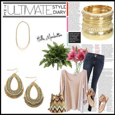 Casual Chic, created by anmelilli on Polyvore