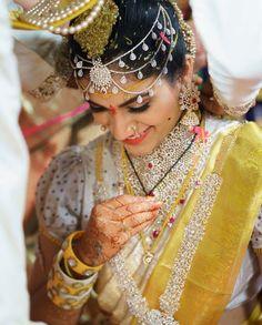 Groom Wedding Dress, Saree Wedding, Wedding Bride, Wedding Set, Bridal Looks, Bridal Style, Indian Marriage, Indian Bridal Sarees, Bridal Blouse Designs