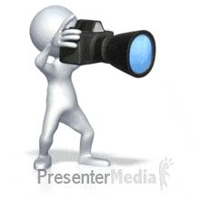 Stick Figure Taking Pictures - Animated Clipart for PowerPoint Powerpoint Animation, 3d Animation, Animated Clipart, Animated Gif, Taking Pictures, Cool Pictures, Baby Buddha, Foto Gif, 3d Man