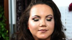 Be.You.tiful: Cranberry and Gold Fall Makeup Look by Carli Bybel Inspired
