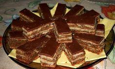 A zserbó az egyik kedvenc sütink, ami az ünnepi asztalokról sem maradhat le! Annyira csodás íze van, hogy ezt érdemes megsütni! Hozzávalók a tésztához: 40[...] Diabetic Recipes, My Recipes, Diet Recipes, Cooking Recipes, Cake Cookies, Deserts, Food And Drink, Gem, Sweets
