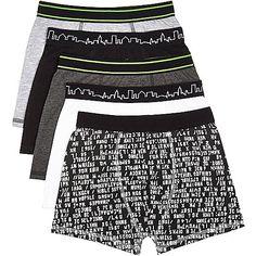 Boys black boxers pack - underwear / socks - accessories - boys
