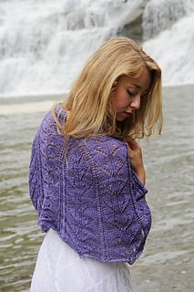Magia Mystery Shawl KAL by Laura Nelkin - knit it with Indigodragonfly!