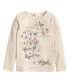 Long-sleeved top  | H&M US 4-6y