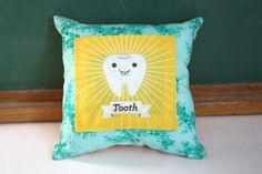 Tooth Fairy Traditions: Tooth Pillow from Sparkle Power | Cool Mom Picks