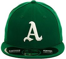 New Era Authentic Collection Oakland Athletics 1969 Turn Back The Clock On-Field Fitted Game Hat