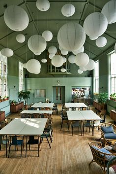 "Ilse Crawford creates dining space with ""dignity"" for London soup kitchen"