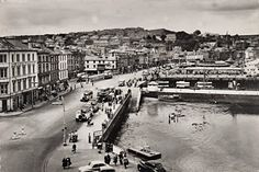 Rothesay's outer harbour c1954.