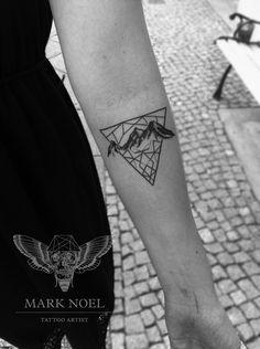 A triangle from Mark Noel Tattoo Artist