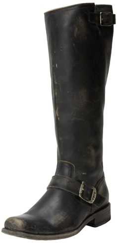 FRYE Women's Smith Engineer Tall Boot -- Check this awesome image  : Boots Shoes