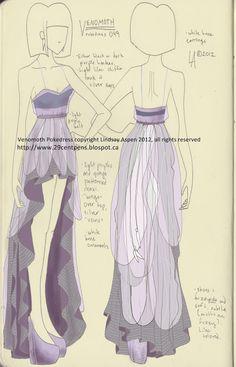 Venomoth dress by Lindsay -- 29CentPens
