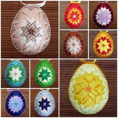 Falešný patchwork - zase ta vejce... | Moje mozkovna