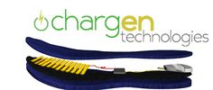 Chargen Technology. Research model on a portable piezo electric charger