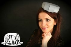 Vintage style pillbox hat by Indie Cindy Hats