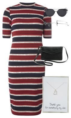 """""""Gift Card Necklace"""" by info-klompa ❤ liked on Polyvore featuring Dorothy Perkins"""