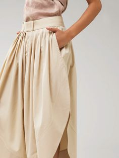 Pants Fast Fashion, Womens Fashion, Online Dress Shopping, Minimal Fashion, Poplin, Amazing Women, Dresses Online, Wide Leg, High Waisted Skirt