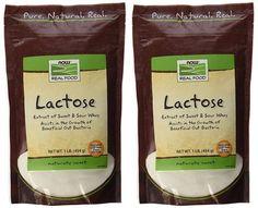 Now Foods Lactose Milk Sugar - 1 lb ( 2-Pack) ** Click image for more details.