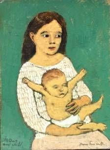 BrianKershisnik - Mother & Child II