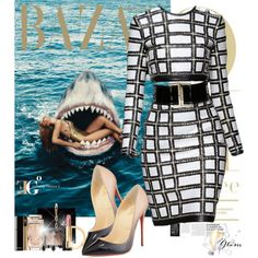 The Cage by eleonoragocevska on Polyvore featuring moda, Christian Louboutin, Charlotte Olympia, Elise Dray, NARS Cosmetics, Yves Saint Laurent, Balmain, Chanel and Sergio Rossi
