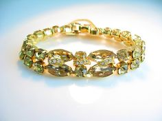 Eisenberg Ice Bracelet Light Topaz Citrine by bohemiantrading, $85.00