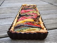 Tarte aux légumes grillés et au pesto Vegetarian Recipes, Snack Recipes, Snacks, Pesto, Good Food, Yummy Food, No Salt Recipes, Healthy Meals To Cook, Cooking Time