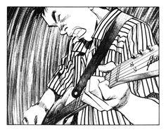 comic panel from '20th Century Boys' by Naoki Urasawa (chapter 22, 2000)