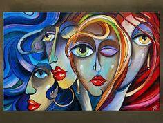 Afbeeldingsresultaat voor schilderijen abstract