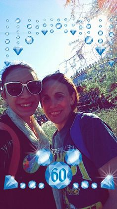 Me and my mom posing in Disney