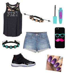 """""""Untitled #20"""" by kitty2563 ❤ liked on Polyvore featuring J Brand, Freaker, Shamballa Jewels and Casetify"""