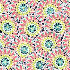 Maude Asbury - Geofabulous - Kaleidoscope in Pink