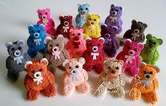 Ayani art: Quilling Teddy Bears