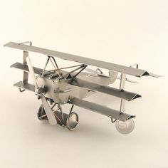 Schraubenmännchen Roter Baron XL Flugzeug