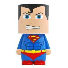Look-a Lite: DC Comics - Superman Character Superman Dc Comics, Superman Characters, Batman, Superman Action Figure, Design3000, Led Desk Lamp, Table Lamp, Mood Light, Wonder Woman