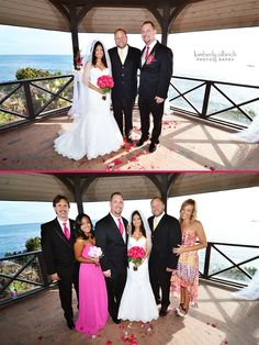 Gazebo Wedding In Laguna Beach At Heisler Park