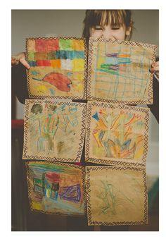 Paper Bag Quilt | Honest to Nod