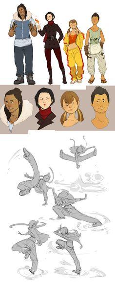 Avatar AU dump by Chopstuff.deviantart.com on @deviantART
