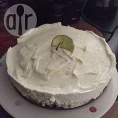 Cheesecake de lima sin cocción @ allrecipes.com.ar