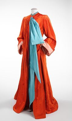 1945 Charles James dressing gown - if we had one of his creations we'd never leave the house.