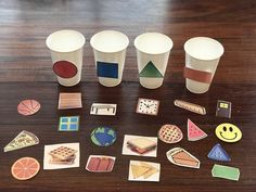 Shape Sort - Everything About Kindergarten Toddler Learning Activities, Sorting Activities, Infant Activities, Autism Activities, Preschool Learning, Kindergarten Math, Preschool Crafts, Science Crafts, Toddler Crafts