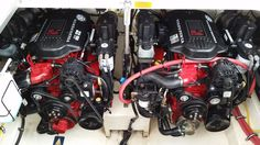 Clean, economical engines. Volvo 5.7 EFI with good drives.