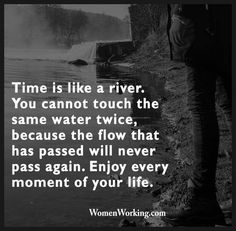 So true! Love this quote... A beautiful reminder to enjoy the moment that is right here and now! #time #precious #beautifulreminder #livealife #enjoylife #behappy #inspirational